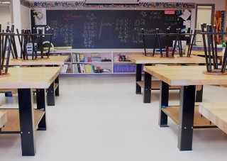 Image of Clean Classroom